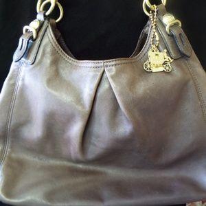 Coach, Madison Mia Maggie Leather Hobo Bag